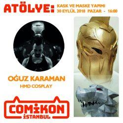 comikon_oguz_karaman_migfer_yapımı